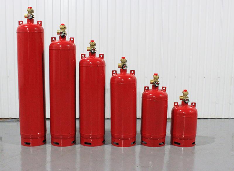 Баллоны вместимостью 140, 120, 100, 80, 60, 40 литров